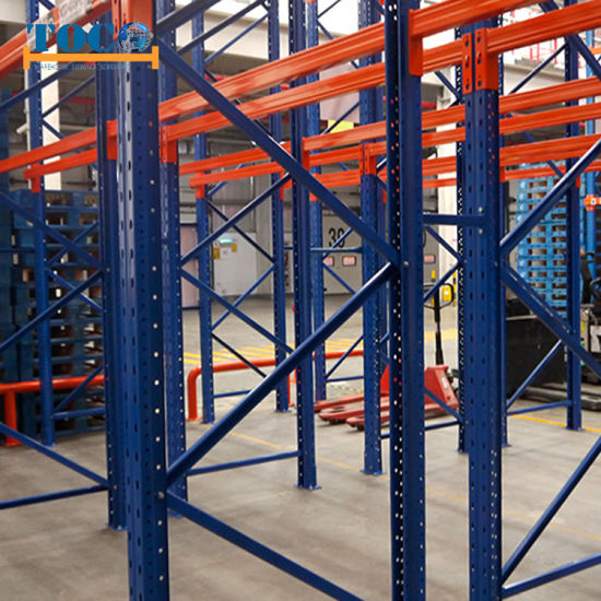 High Density Upright Protector Steel Double Deep Racking