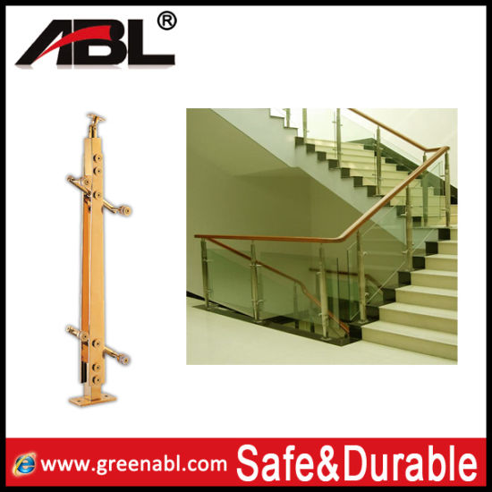Stainless Steel Glass Fitting Glass Railing (double) /Handrail Railing/Staircase/Fence Post pictures & photos