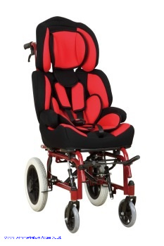 150 Degree Reclining Aluminum Manual Wheelchair for Cerebral Palsy Children