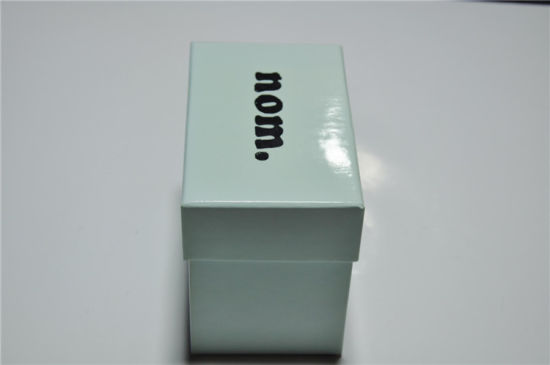 Simple Small Paper Gift Box Lid and Bottom Type Printing with Gloss Lamination Wholesale