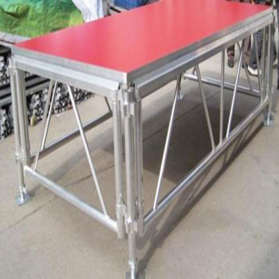 Aluminum Weddiing Portable Choral Truss System Stage for Sale