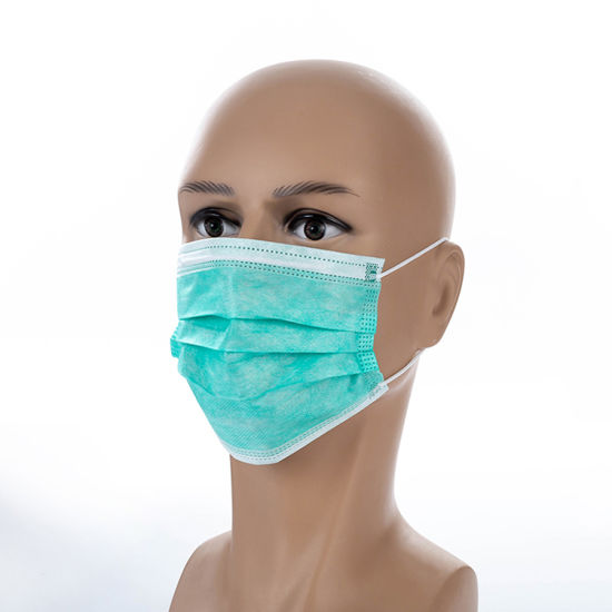 Medical Colorful Cheap 3 Face Non Non-woven Masks Surgical Mask Ply Dental Woven Factory Clinic Disposable Earloop