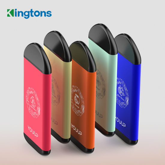 2020 New Wholesales Kingtons Electronic Cigarette Youup 119 Free Sample Disposable Vape