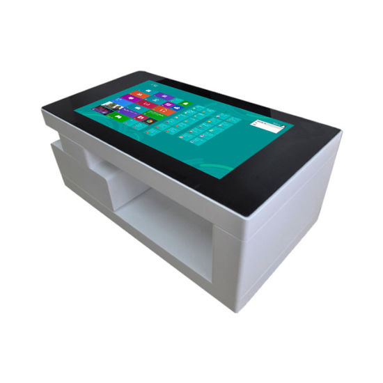 42′′ Kfc Restaurant Ordering Machine Multi-Touch Waterproof Interactive Smart Touch Table with Software pictures & photos