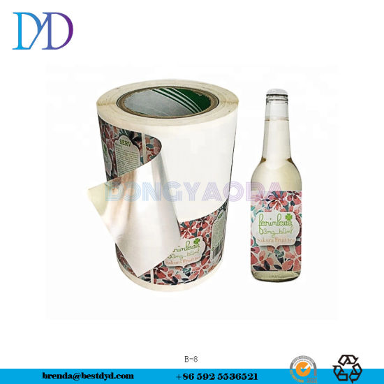 Cheap Bottle Sticker Printing Customizes The Kinds of Labels You Need