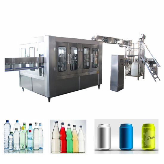 Small Bottle Water Filling and Capping Machine Pure Water Production Line