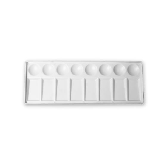 """50613 Plastic Palette with 4-1/2""""X12"""", 1 PC / Polybag W/Header"""