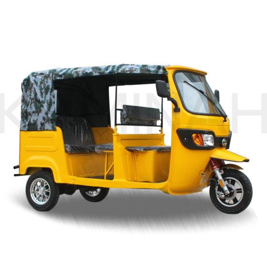 AC3000W L Electric Tricycle for Passanger Three Wheel Electric Trike Tuk Tuk Bajaj Rickshaw Tvs 3 Wheel Tricycle