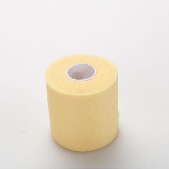 Free Samples Polyurethane Colorful Sports Foam Underwrap