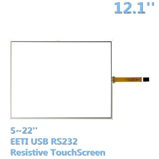 12inch POS Industrial PC All in One Computer Kiosk Terminal Resistive  Monitor Touchscreen Panels Eeti USB RS232