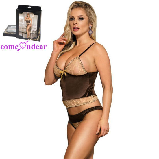 Extreme Sexy Lingerie Set Showing Nipples