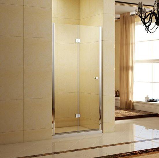 Auto-Rising Bi-Fold Swing Glass Shower Door