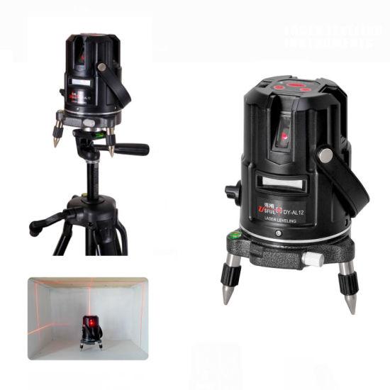 Al12 Auto Leveling Laser Cross 5 Line Rotating Laser Level Laser Level Tools