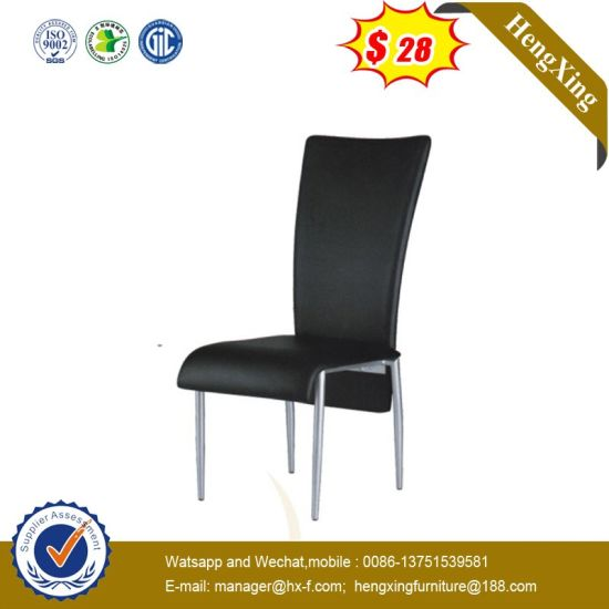 Wholesale High Back Indoor Hotel Living Room Leather Leisure Dining Chair pictures & photos