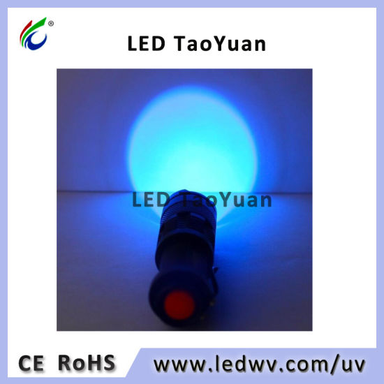 Blacklight 395nm 3W UV LED Flashlight