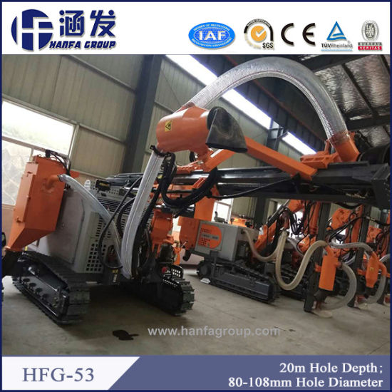 20m Depth Blast Hole Drill Rig (HFG-53) pictures & photos