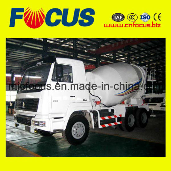 China Professional Steyr Chassis 8m3 Concrete Truck Mixer