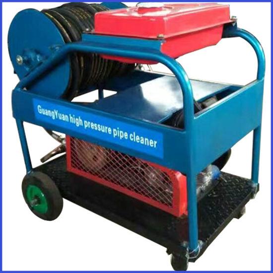 180bar 50lpm 24HP High Pressure Sewer Drain Cleaning Machine