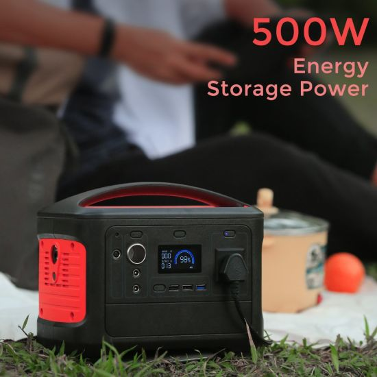 Camping Power Supply 14.8V 38.4ah Online Backup Portable Power Station Solar Battery Power Supply OEM/ODM