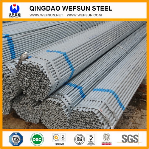 1/2  to 4  Q235 ERW Galvanized Water Pipe  sc 1 st  Qingdao Wefsun Metal Material Co. Ltd. & China 1/2