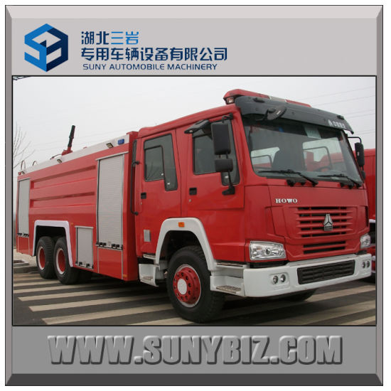 Sinotruk HOWO 6X4 City Water Tank Fire Fighting Truck pictures & photos