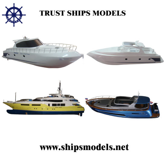 Miniature Yacht Models for Home Decoration
