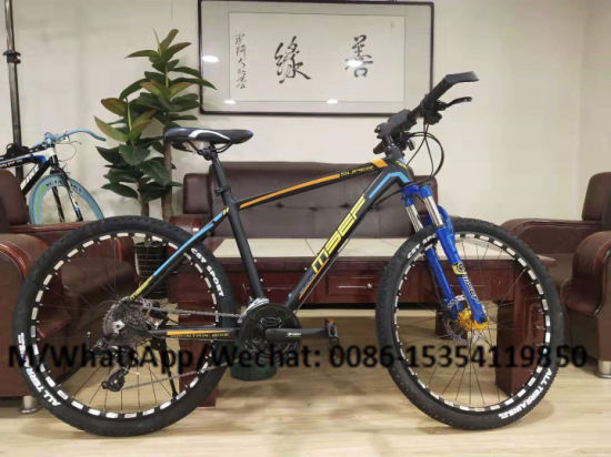 26/27.5/29 Inch High Quality Mountain Bike MTB Aluminium Alloy/Carbon Steel Frame Front Suspension Mountain Bicycle 29'' Hydraulic Dual Disc Brake Oil Brake