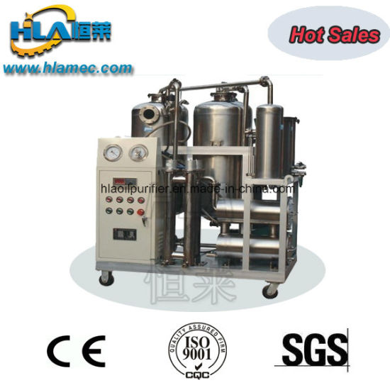 Dsf Stainless Steel Transportable Vacuum Cooking Oil Filtration Machine pictures & photos