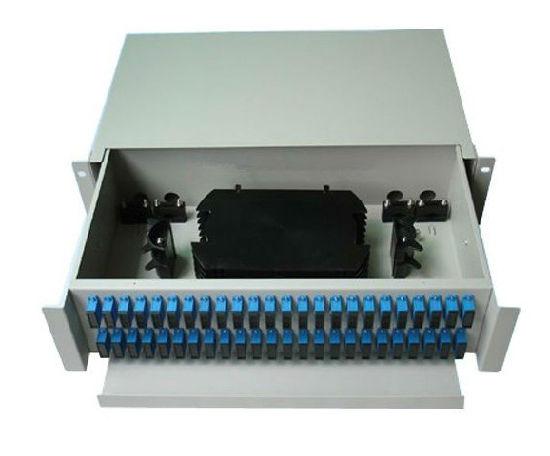 2u 19 Inch 48 Port Fiber Optic Patch Panel