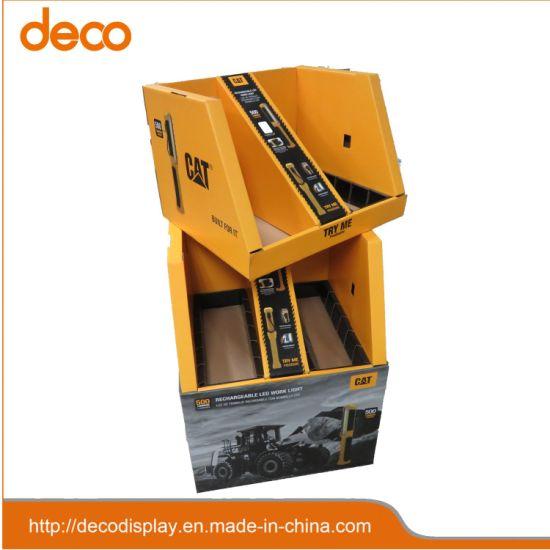 Paper Floor Display Stand Cardboard Tools Display Carton