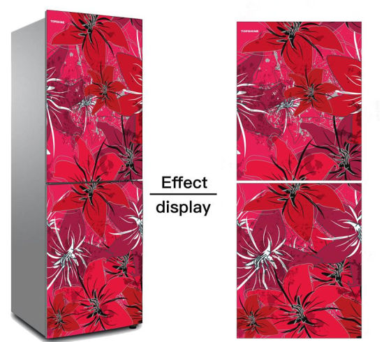Customized Digital Printing Tempered Glass for Refrigerator Door