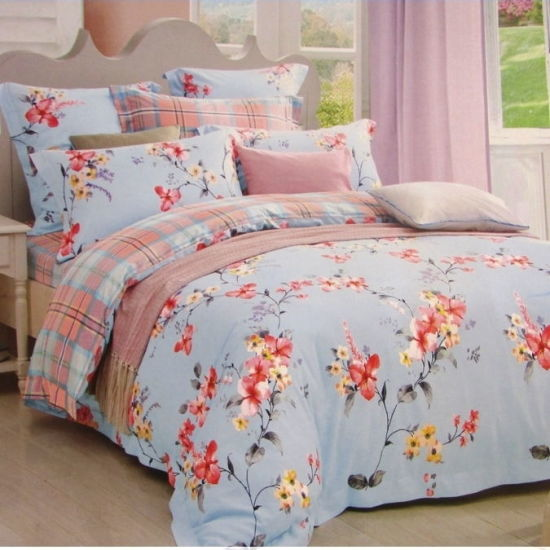 Factory Price Wholesale Cotton Bedding Set for Home Design