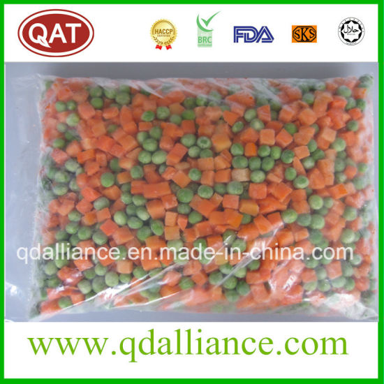 Frozen Mixed Vegetables with Peas Carrot Sweet Corn pictures & photos