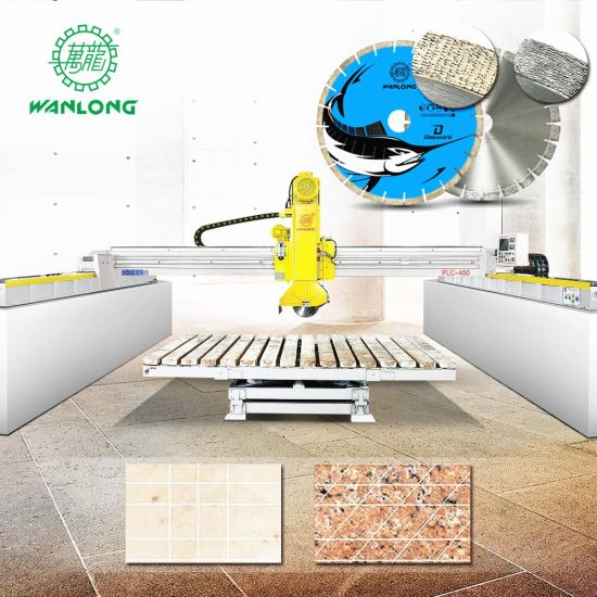 China Infrared CNC Bridge Saw Granite Marble Cutting Machine