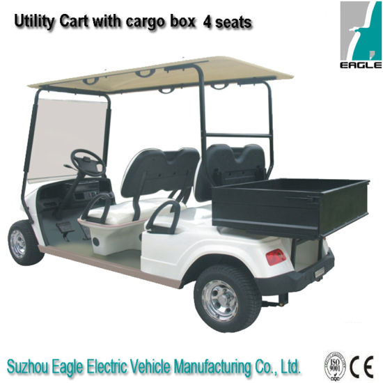 Electric Utility Car (EG2048H, with Rear Steel Box ) pictures & photos