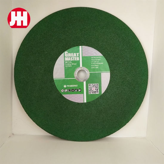 High Quality Wholesale 350mm Abrasive Cutting Wheel for Metal