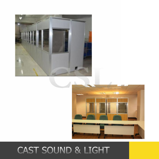 High Quality International Conference System Translation Booth with ISO 4043 pictures & photos