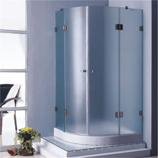 China Bathroom Round Frameless Hinged Shower Enclosure Room 80 90 ...