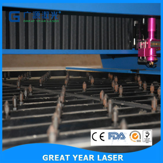 18mm Plywood Flat Die Board Laser Cutting Machine pictures & photos
