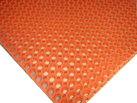 High Quality Grass Rubber Floor Mats, Anti-Fatigue Rubber Hole Mat pictures & photos