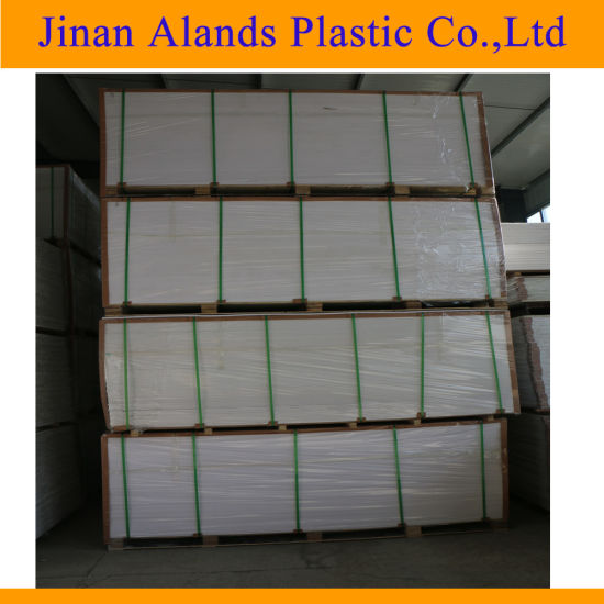 High Density 8mm PVC Free Foam Sheets for Ceiling pictures & photos