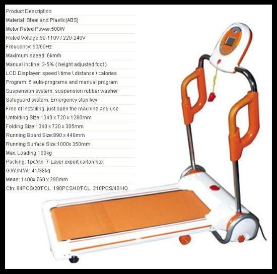 Electric Treadmill (TR-1003) Hot in Korea