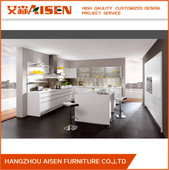 Gloss Matt Wood Kitchen Finishes: China 2018 Customized Lacquer Kitchen Cabinets Design In