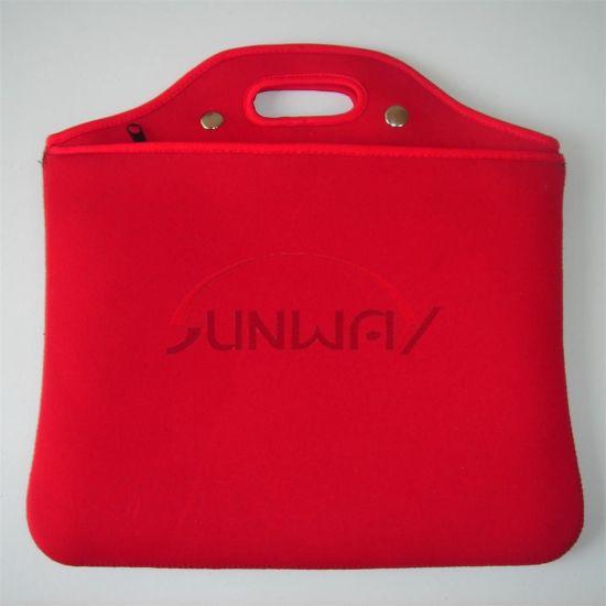 Neoprene Laptop Bag Sleeve, Computer Notebook Case with Pocket (PC034)