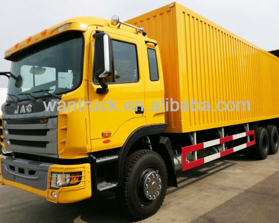 JAC 340HP 6X4 Hfc1254kr1t Cargo Truck pictures & photos