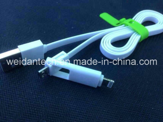 2 in 1 Combo USB Data Cable
