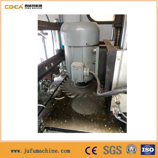 PVC Win-Door Corner Cleaning Window Machine with CNC pictures & photos