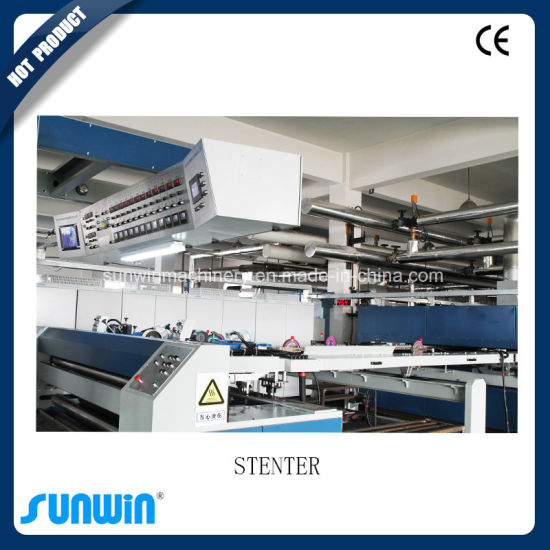 Large Capacity Hot Air Setting Finishing Machine for Linen Fabric pictures & photos