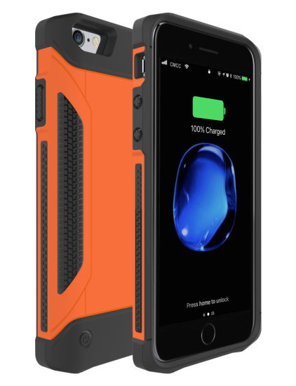 Anti Shock Anti Knock Dusk Proof Battery Case for iPhone pictures & photos