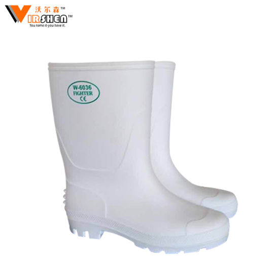 12d1ccd3bba8 China Hot Selling Safety PVC Yellow Working Gumboots with Steel Toe ...